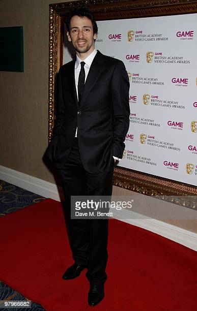 Ralf Little attends the BAFTA Video Games Awards at the 'Park Lane Hotel' on March 19 2010 in London England