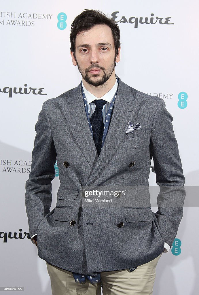 Ralf Little attends the EE and Esquire BAFTA party at The Savoy Hotel on February 12 2014 in London England