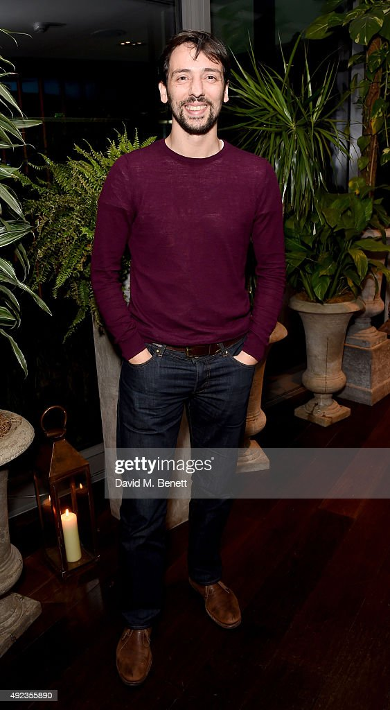 Ralf Little attends the launch event for Sony technology 'Made for Bond' featuring the RX100 IV camera and Xperia Z5 at the Mondrian Hotel on October...