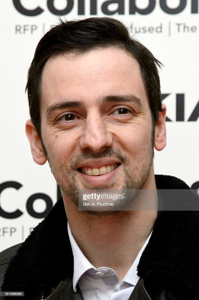 Ralf Little attends the premiere of Rankin's Collabor8te connected by NOKIA at Regent Street Cinema on February 12 2013 in London England