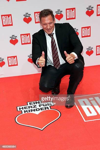 Ralf Moeller attends the Ein Herz Fuer Kinder Gala 2014 at Tempelhof Airport on December 6 2014 in Berlin Germany