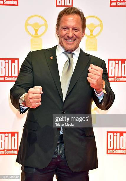 Ralf Moeller attends the 'Goldenes Lenkrad' Award at Axel Springer Haus on November 8 2016 in Berlin Germany