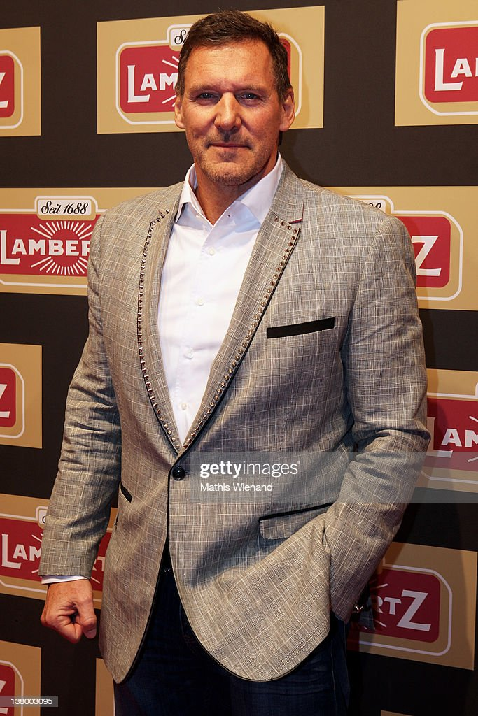 <a gi-track='captionPersonalityLinkClicked' href=/galleries/search?phrase=Ralf+Moeller&family=editorial&specificpeople=220391 ng-click='$event.stopPropagation()'>Ralf Moeller</a> attends the red carpet at the 'Lambertz Monday Night' January 30, 2012 in Cologne, Germany.
