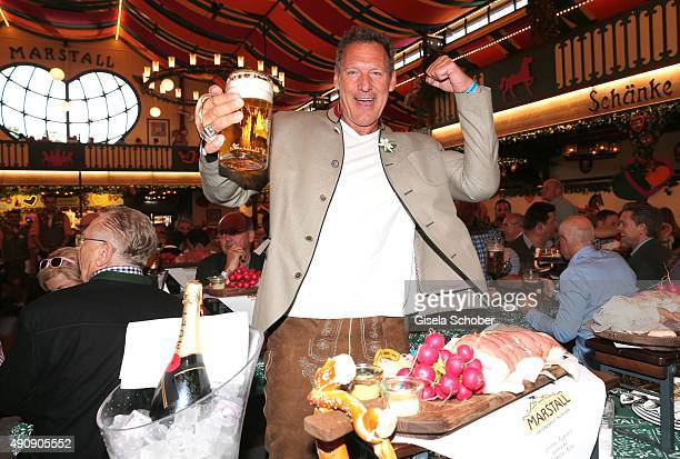 Ralf Moeller attends the 'WiesnGipfel' during the Oktoberfest 2015 at Marstall / Theresienwiese on Oktober 01 2015 in Munich Germany