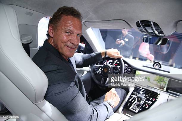 Ralf Moeller attends the World Premiere Of New Porsche Panamera on June 28 2016 in Berlin Germany