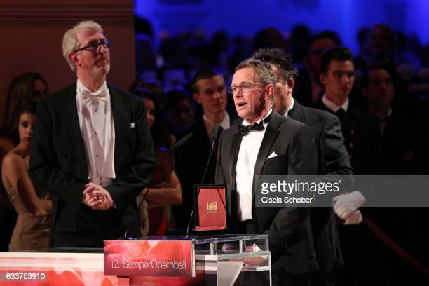 Ralf Rangnick RB Leipzig during the Semper Opera Ball 2017 at Semperoper on February 3 2017 in Dresden Germany