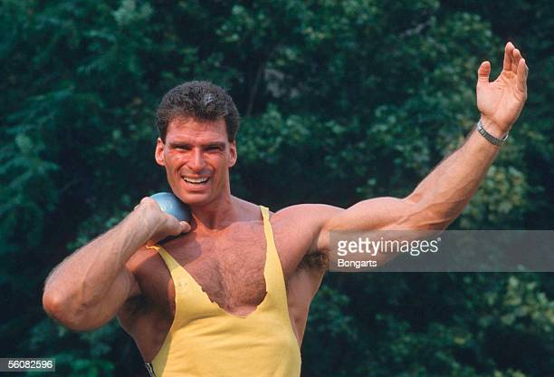 Ralf Reichenbach of Germany posed during a on August 03 1987 in Berlin Germany