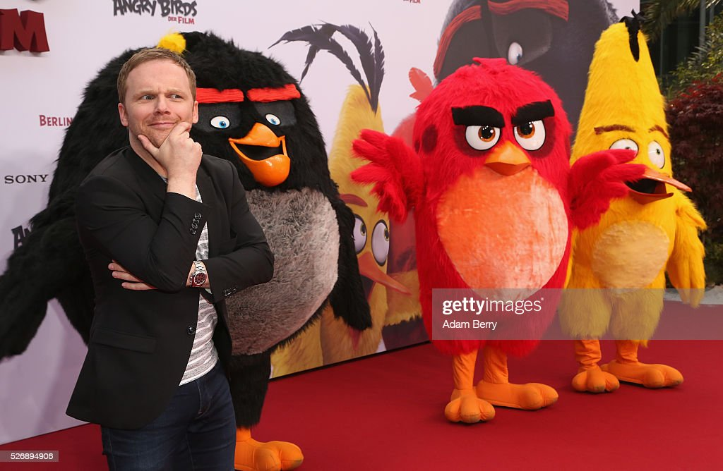 <a gi-track='captionPersonalityLinkClicked' href=/galleries/search?phrase=Ralf+Schmitz&family=editorial&specificpeople=777390 ng-click='$event.stopPropagation()'>Ralf Schmitz</a> attends the premiere of 'Angry Birds - Der Film' on May 01, 2016 in Berlin, Berlin.