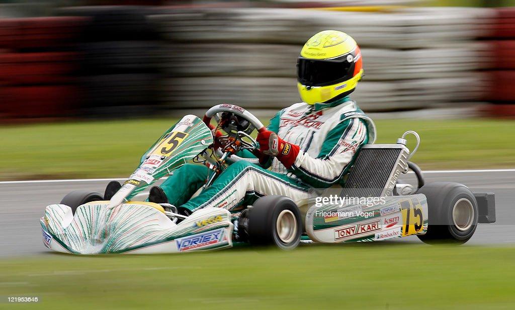 Michael Schumacher And Sebastian Vettel - Kart Racing In Kerpen