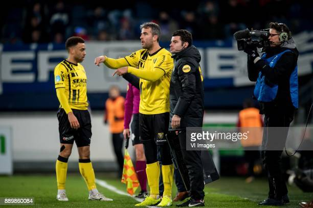 Ralf Seuntjens of VVV during the Dutch Eredivisie match between sc Heerenveen and VVV Venlo at Abe Lenstra Stadium on December 09 2017 in Heerenveen...