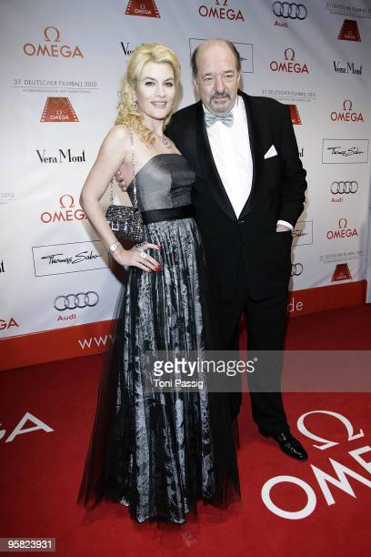 Ralf Siegel and Kriemhild Jahn attend the 37 th German Filmball 2010 at the hotel Bayrischer Hof on January 16 2010 in Munich Germany