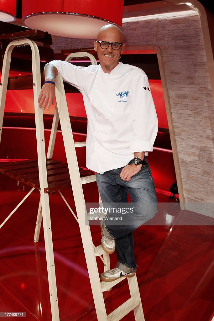 Ralf Zacherl attends the 'Grill den Henssler - die neue Kocharena' Photocall at Coloneum on August 23, 2013 in Cologne, Germany.