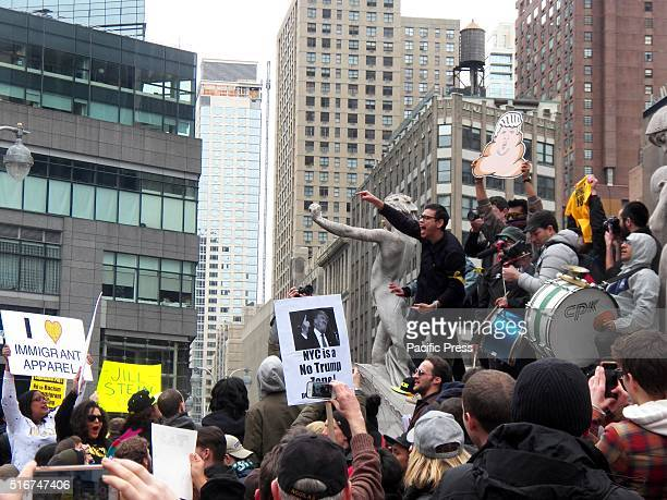 Rally against Donald Trump in New York City in response to Donald J Trump and all the headlines he has made in recent months with his divisive...