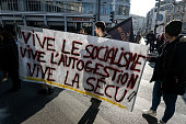 FRA: Rally And Demonstration Against Precariousness In Lyon