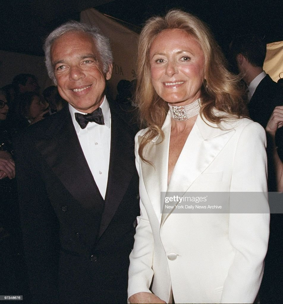 Ralph and Ricky Lauren are all smiles at the Council of Fashion Designers of America Awards presentations at Cipriani