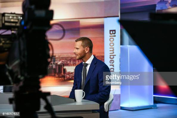 Ralph Bassett cohead of North American equities for Aberdeen Asset Management listens during a Bloomberg Television interview in New York US on...