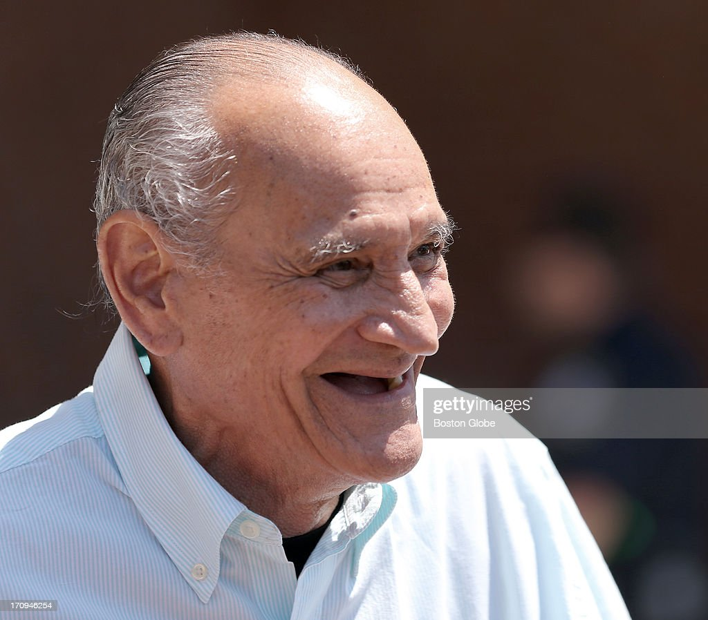 Ralph DeMasi smiles as he leaves the courthouse. The trial of James 'Whitey' Bulger continues at the John Joseph Moakley United States Courthouse in Boston, June 20, 2013.