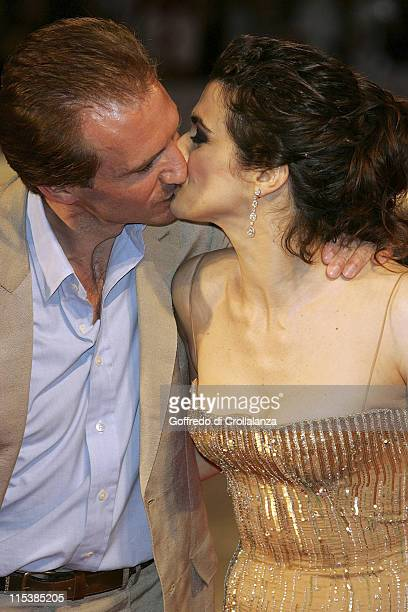 Ralph Fiennes and Rachel Weisz during 2005 Venice Film Festival 'The Constant Gardener' Premiere in Venice Italy