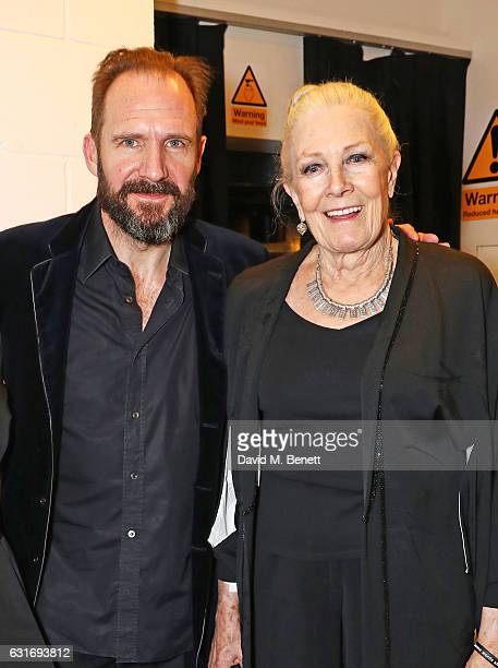Ralph Fiennes and Vanessa Redgrave attend a performance of Prokofiev's Romeo Juliet in aid of Gift Of Life at the Royal Festival Hall on January 14...