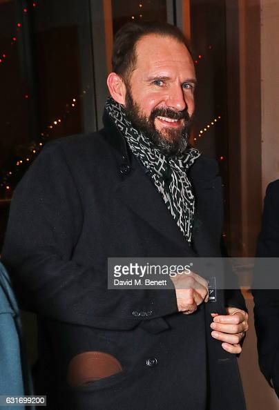 Ralph Fiennes attends a performance of Prokofiev's Romeo Juliet in aid of Gift Of Life at the Royal Festival Hall on January 14 2017 in London England