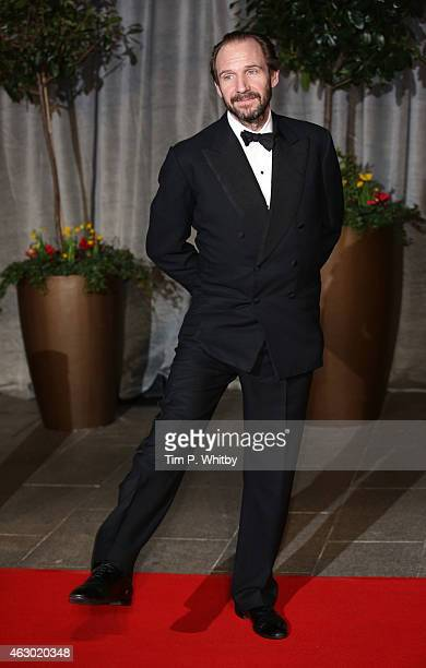 Ralph Fiennes attends the after party for the EE British Academy Film Awards at The Grosvenor House Hotel on February 8 2015 in London England