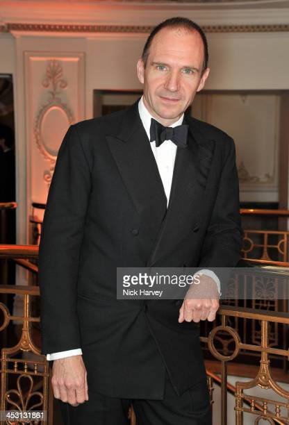 Ralph Fiennes attends the British Fashion Awards 2013 at London Coliseum on December 2 2013 in London England