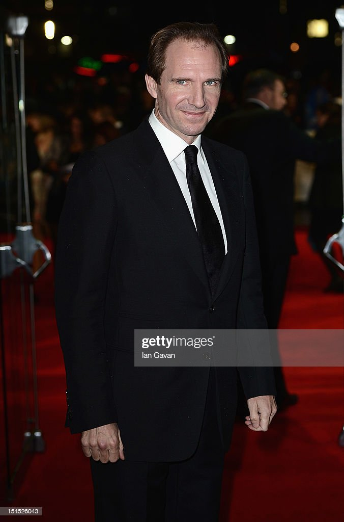 Ralph Fiennes attends the Closing Night Gala of 'Great Expectations' during the 56th BFI London Film Festival at Odeon Leicester Square on October 21, 2012 in London, England.