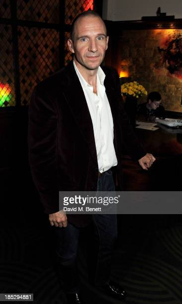 Ralph Fiennes attends the dinner hosted by Demet Muftuoglu Eseli Jefferson Hack to celebrate the premiere of Alphan Eseli's debut feature film 'The...