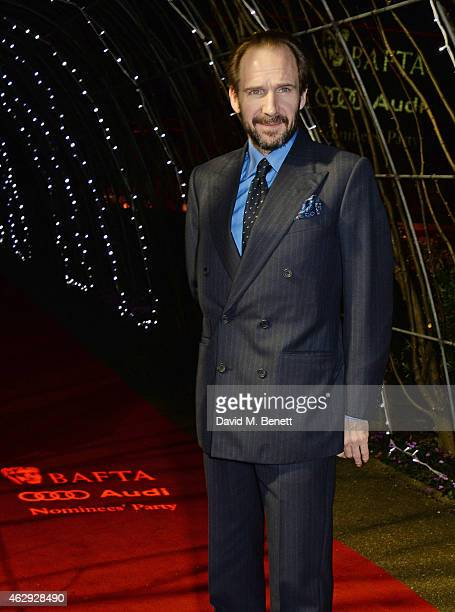 Ralph Fiennes attends the EE British Academy Awards nominees party at Kensington Palace on February 7 2015 in London England