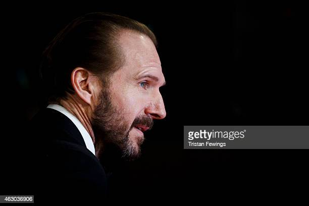 Ralph Fiennes attends the EE British Academy Film Awards at The Royal Opera House on February 8 2015 in London England