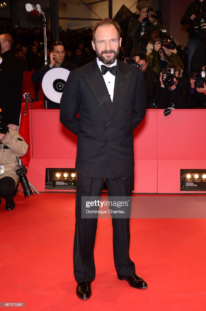 <a gi-track='captionPersonalityLinkClicked' href=/galleries/search?phrase=Ralph+Fiennes&family=editorial&specificpeople=206461 ng-click='$event.stopPropagation()'>Ralph Fiennes</a> attends 'The Grand Budapest Hotel' Premiere during the 64th Berlinale International Film Festival at Berlinale Palast on February 6, 2014 in Berlin, Germany.