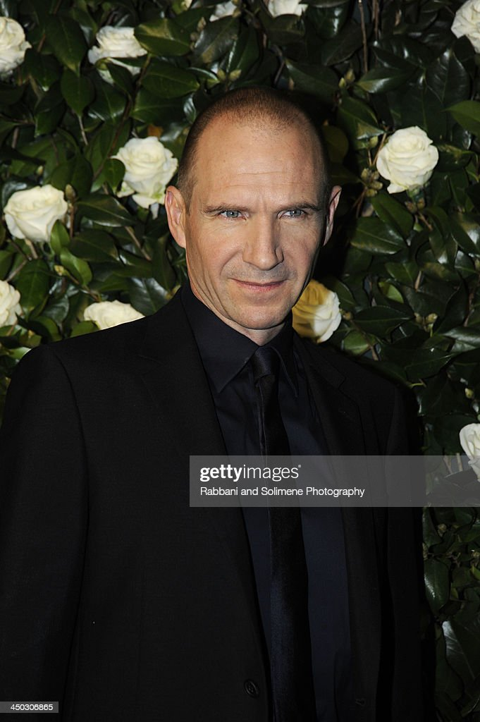 Ralph Fiennes attends the Museum of Modern Art 2013 Film benefit - A Tribute To Tilda Swinton on November 5, 2013 in New York City.