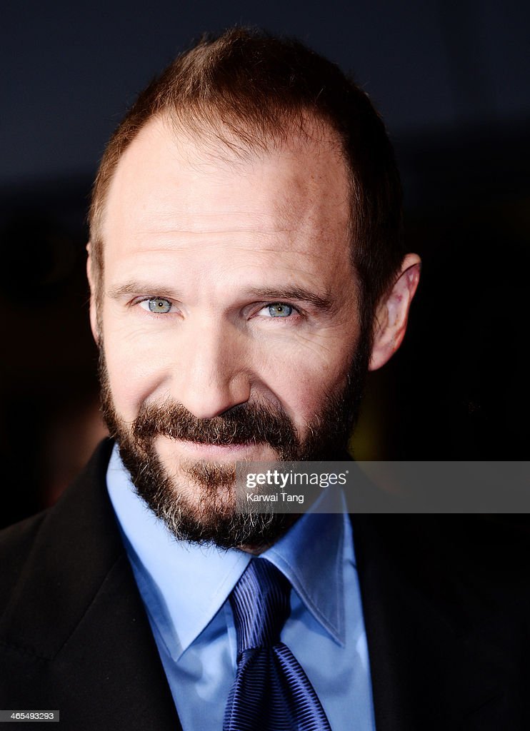 Ralph Fiennes attends the UK Premiere of 'The Invisible Woman' at the ODEON Kensington on January 27 2014 in London England