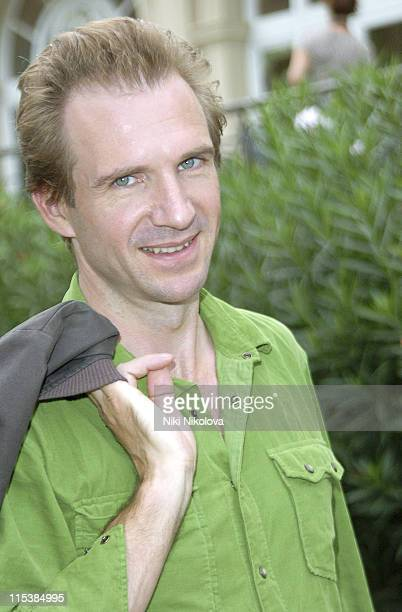 Ralph Fiennes during 2005 Venice Film Festival Celebrity Sightings Outside the Des Bains Hotel September 8 2005 at Des Bains Hotel in Venice Lido...