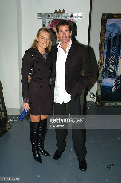 Ralph Firman and guest during Aspire Magazine Launch Party at 15 Ganton Street in London Great Britain