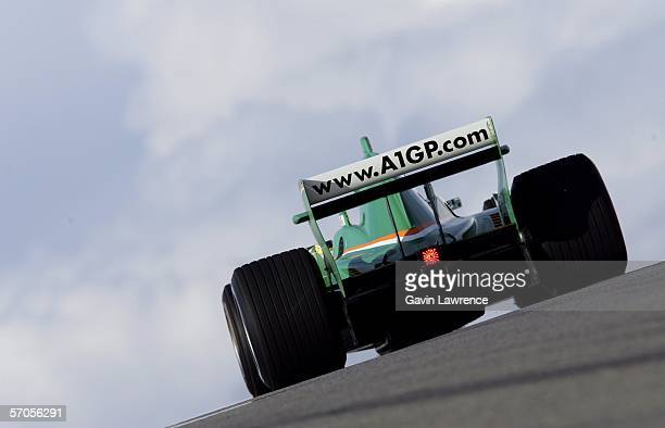 Ralph Firman driver for Ireland during practice for the A1 Grand Prix of Nations California USA on March 10 2006 at the Mazda Raceway Laguna Monterey...