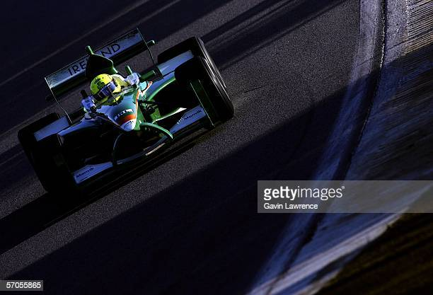 Ralph Firman driving for Ireland during practice for the A1 Grand Prix of Nations California USA on March 10 2006 at the Mazda Raceway Laguna...