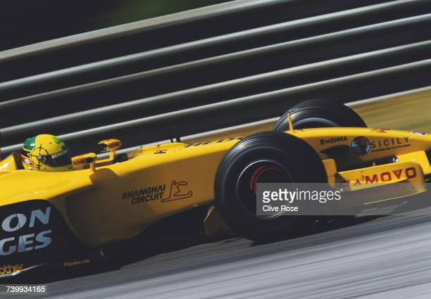 Ralph Firman of Ireland drives the Jordan Grand Prix Jordan EJ13 Ford V10 during the Austrian Grand Prix on 18 May 2003 at the A1 Ring in Spielberg...
