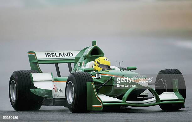 Ralph Firman of Ireland in action during practice for the A1 Grand Prix of Nations race on October 21 2005 at the Circuito Estoril Portugal