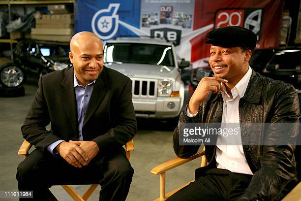 Ralph Gilles Automotive Designer for Chrysler and Terrence Howard will customize a 2006 Jeep Commander as part of the 37th Annual NAACP Image Awards