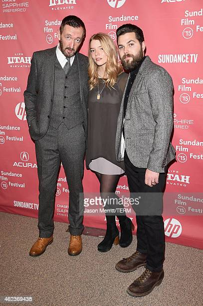 Ralph Ineson Anya TaylorJoy and Robert Eggers attend 'The Witch' premiere during the 2015 Sundance Film Festival on January 27 2015 in Park City Utah