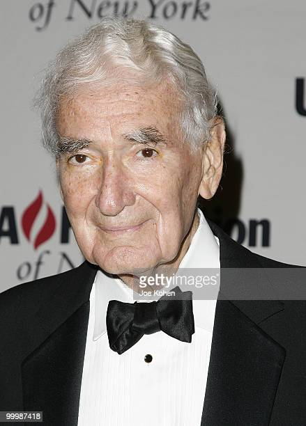 Ralph J Roberts founder of Comcast Corporation attends the UJAFederation of New York's Steven J Ross Humanitarian Award Dinner on June 17 2008 at the...
