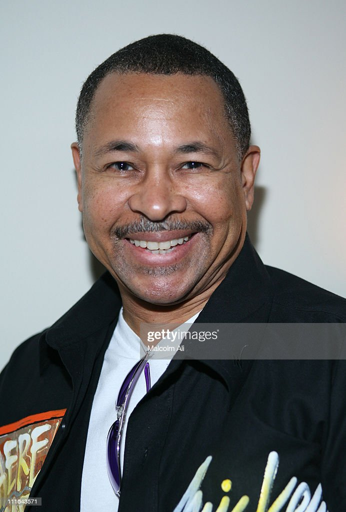 Ralph Johnson of Earth,Wind and Fire during R&B Singer Howard Hewett Signs New Record Deal with Machine Records at Grace Resturant in Los Angeles, California, United States.