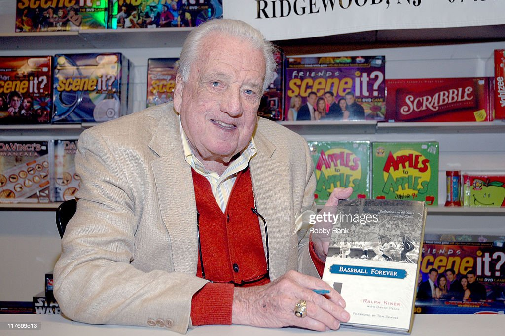 <a gi-track='captionPersonalityLinkClicked' href=/galleries/search?phrase=Ralph+Kiner&family=editorial&specificpeople=242958 ng-click='$event.stopPropagation()'>Ralph Kiner</a>, Baseball Hall of Famer & NY Mets Announcer