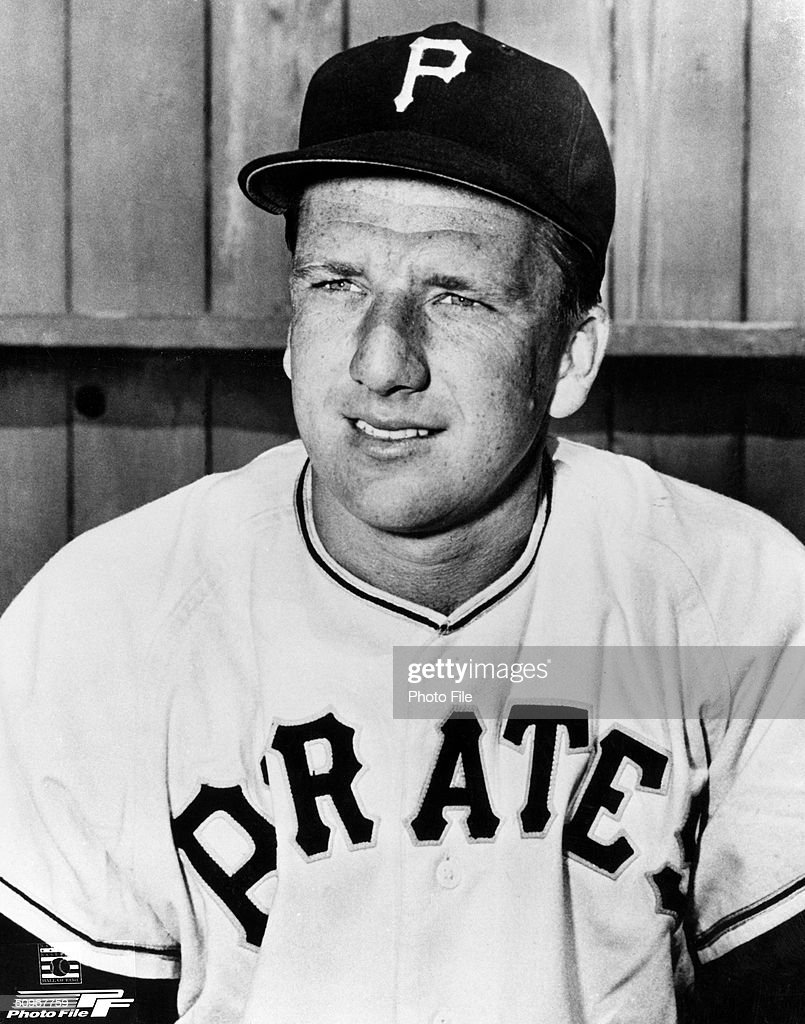 <a gi-track='captionPersonalityLinkClicked' href=/galleries/search?phrase=Ralph+Kiner&family=editorial&specificpeople=242958 ng-click='$event.stopPropagation()'>Ralph Kiner</a> #4 of the Pittsburgh Pirates poses for a portrait. Kiner played for the Pirates from 1946-1953.