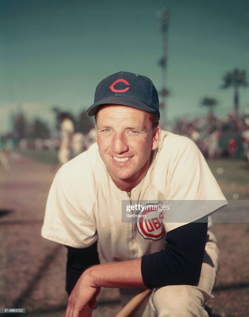 <a gi-track='captionPersonalityLinkClicked' href=/galleries/search?phrase=Ralph+Kiner&family=editorial&specificpeople=242958 ng-click='$event.stopPropagation()'>Ralph Kiner</a>, the homerun king for the Chicago Cubs smiles.