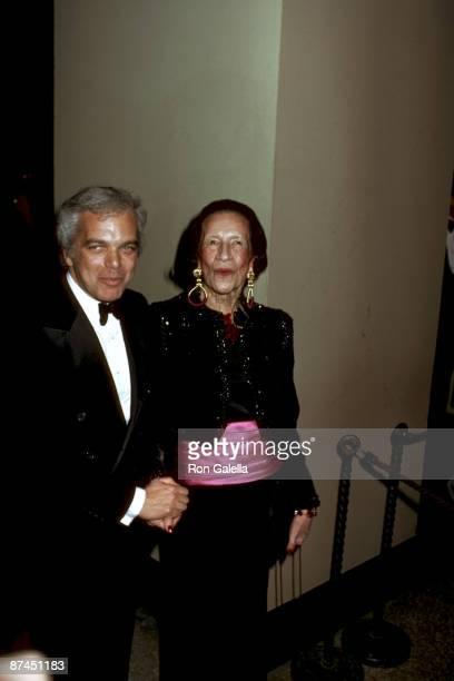 Ralph Lauren and Diana Vreeland