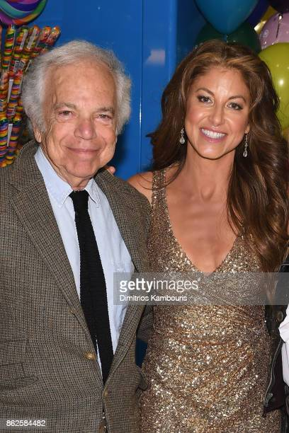 Ralph Lauren and Dylan Lauren celebrate the Sweet 16 of Dylan's Candy Bar on October 17 2017 in New York City