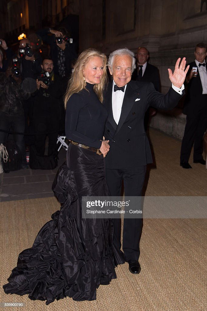 France - Ralph Lauren Hosts a collection Show and Private Dinner at 'L'Ecole des Beaux-Arts'.