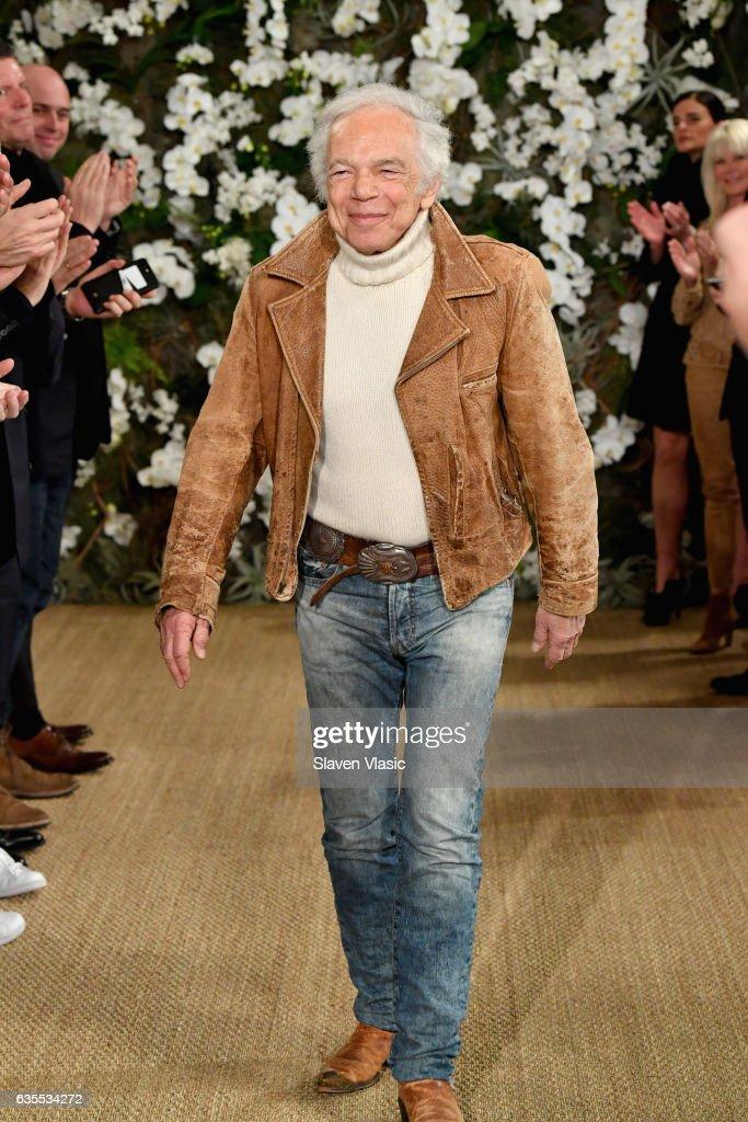 Ralph Lauren - Runway - February 2017 - New York Fashion Week : News Photo